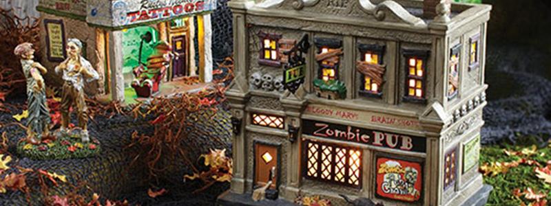 Department 56 Snow Village Halloween Series