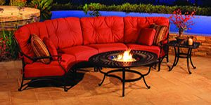 Outdoor Living Sectional seating