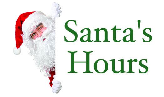 Santa's Hours