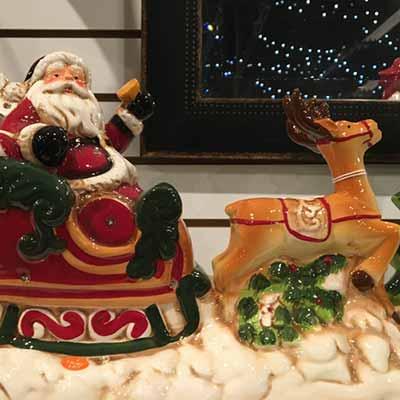 Santa-Reindeer