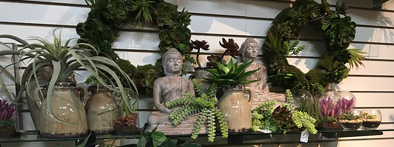 Image Of Decorations Available At A Garden Center - Feeney's