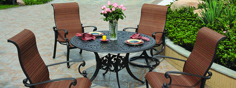 Cast Aluminum Patio Furniture