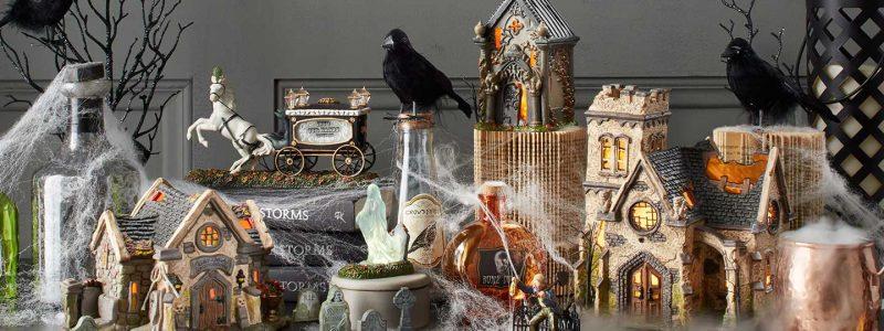 D56 Halloween Graveyard