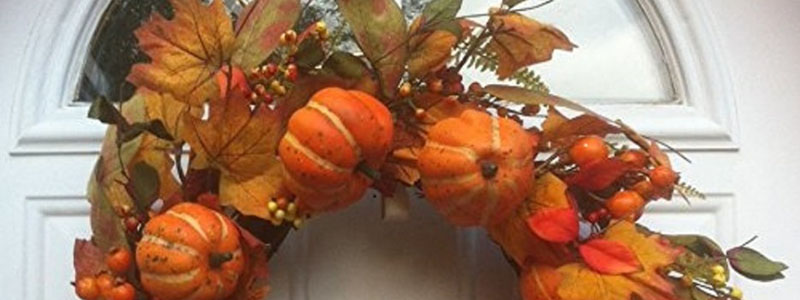 Fall Decorated Wreath
